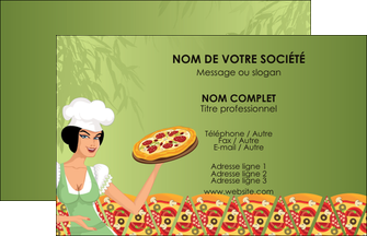 Impression flyer pizza prospectus pizzeria tract for Formateur en cuisine