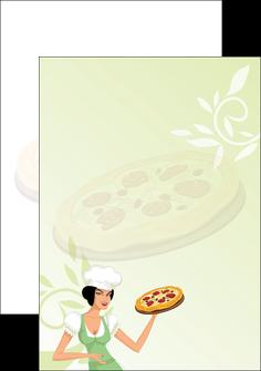 realiser flyers pizzeria et restaurant italien pizza plateau plateau de pizza MLGI19765