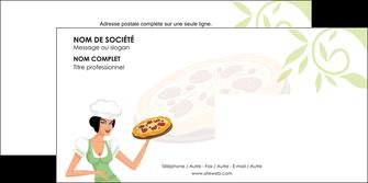 maquette en ligne a personnaliser enveloppe pizzeria et restaurant italien pizza plateau plateau de pizza MLGI19775