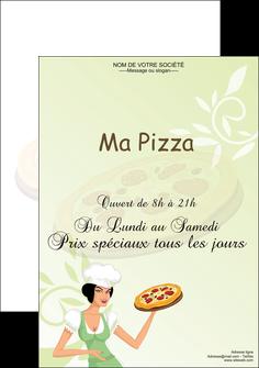 realiser affiche pizzeria et restaurant italien pizza plateau plateau de pizza MLGI19779