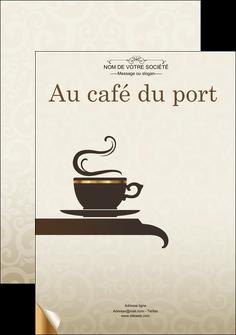 Affiche pour café à personnaliser