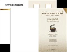 realiser carte de visite bar et cafe et pub salon de the buvette brasserie MLGI19799