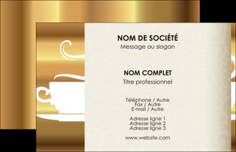 Creer Modele En Ligne Carte De Visite Bar Et Cafe Pub Salon The Buvette