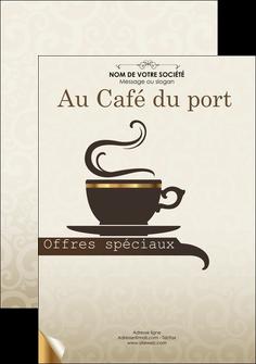 imprimer flyers bar et cafe et pub salon de the buvette brasserie MLGI19805