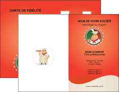 Exemple de carte de visite pizza