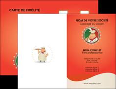 Exemple de carte de visite pizza