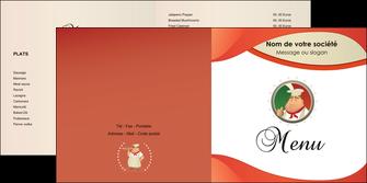 imprimer depliant 2 volets  4 pages  pizzeria et restaurant italien pizza plateau plateau de pizza MLGI19865