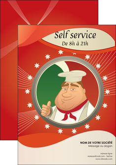 maquette en ligne a personnaliser flyers pizzeria et restaurant italien pizza plateau plateau de pizza MLGI19871