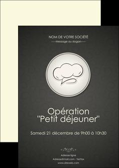 personnaliser maquette flyers restaurant restaurant restaurant du monde restaurant francais MLGI19893