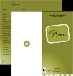 imprimer depliant 2 volets  4 pages  pizzeria et restaurant italien pizza plateau plateau de pizza MLGI20263
