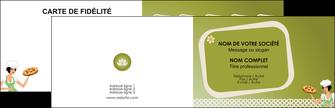 creation graphique en ligne carte de visite pizzeria et restaurant italien pizza plateau plateau de pizza MLGI20265