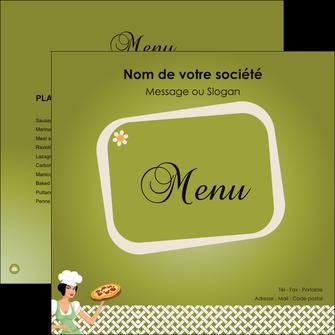 impression flyers pizzeria et restaurant italien pizza plateau plateau de pizza MLGI20273