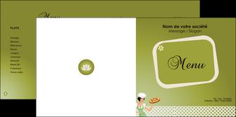 modele en ligne depliant 2 volets  4 pages  pizzeria et restaurant italien pizza plateau plateau de pizza MLGI20275