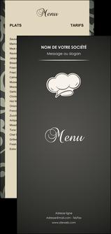 modele en ligne flyers restaurant restaurant restauration restaurateur MLGI20311
