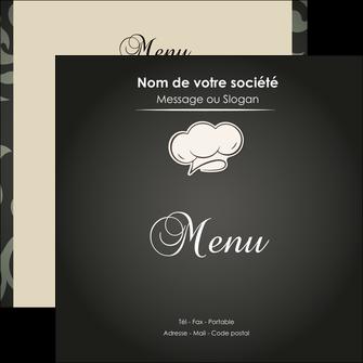 realiser flyers restaurant restaurant restauration restaurateur MLGI20321
