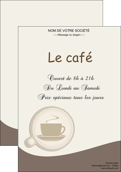modele affiche bar et cafe et pub cafe salon de the cafe chaud MLGI20331