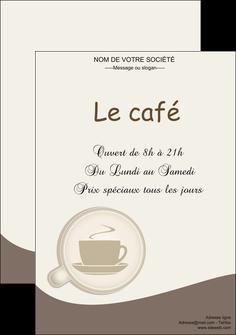 modele affiche bar et cafe et pub cafe salon de the cafe chaud MLGI20331