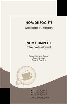 imprimerie carte de visite bar et cafe et pub cafe salon de the cafe chaud MLGI20339