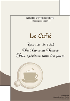 modele en ligne affiche bar et cafe et pub cafe salon de the cafe chaud MLGI20345