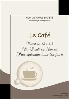 modele en ligne affiche bar et cafe et pub cafe salon de the cafe chaud MLGI20345