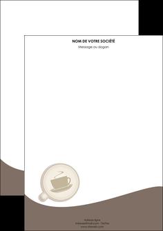 faire modele a imprimer tete de lettre bar et cafe et pub cafe salon de the cafe chaud MLGI20351