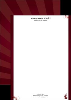 faire modele a imprimer tete de lettre vin commerce et producteur vin bouteille de vin verres de vin MLIG20373