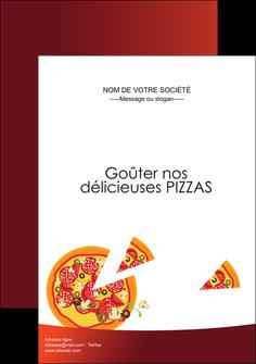 creer modele en ligne affiche pizzeria et restaurant italien pizza pizzeria service pizza MLGI20379