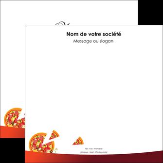 faire modele a imprimer flyers pizzeria et restaurant italien pizza pizzeria service pizza MLGI20387