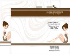 modele en ligne carte de visite institut de beaute beaute esthetique institut de bien etre MLGI20693