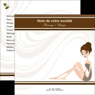 imprimer flyers institut de beaute beaute esthetique institut de bien etre MLGI20699