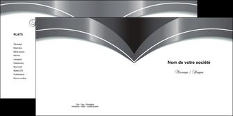 personnaliser modele de depliant 2 volets  4 pages  texture structure contexture MIS20813