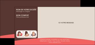 modele en ligne carte de correspondance institut de beaute beaute femme beaute feminine MLGI20825