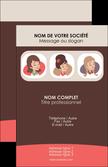 modele carte de visite salon de coiffure beaute femme beaute feminine MLGI20829