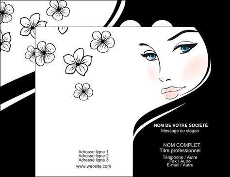 Tres Carte De Visite Modele Et Exemple Beaute Salon RS36