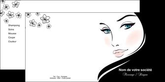 exemple depliant 2 volets  4 pages  institut de beaute beaute salon de beaute institut de beaute MLGI20851