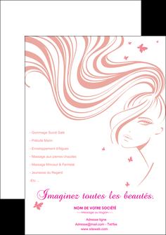 maquette en ligne a personnaliser affiche institut de beaute coiffure coiffeur coiffeuse MLIG21239