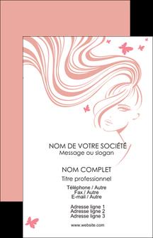 faire modele a imprimer carte de visite institut de beaute coiffure coiffeur coiffeuse MLIG21251