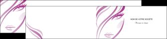 personnaliser maquette depliant 2 volets  4 pages  institut de beaute coiffure coiffeuse salon de coiffure MLGI21315