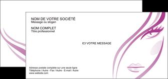 exemple carte de correspondance institut de beaute coiffure coiffeuse salon de coiffure MLGI21319