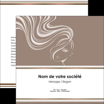 imprimer flyers institut de beaute beaute coiffure soin MLGI21441