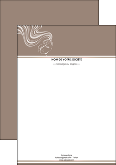 imprimer tete de lettre institut de beaute beaute coiffure soin MLGI21445