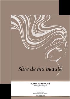 modele flyers institut de beaute beaute coiffure soin MLGI21447