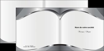personnaliser modele de depliant 2 volets  4 pages  texture contexture design MIF21525