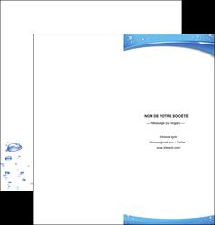 realiser depliant 2 volets  4 pages  texture contexture structure MLGI21537
