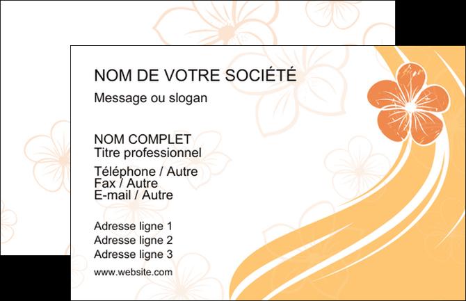 Modele Carte De Visite Institut Beaute Coiffure Coiffeuse Salon MLGI21723