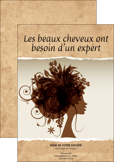 exemple flyers institut de beaute beaute coiffure soin MLGI21951