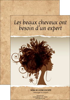 faire flyers institut de beaute beaute coiffure soin MLGI21959