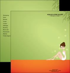imprimerie depliant 2 volets  4 pages  centre esthetique  beaute soins centre de beaute MLGI22051