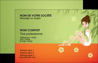 Modle Carte De Visite Centre Esthtique Personnaliser