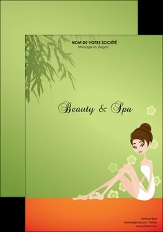 imprimer flyers centre esthetique  beaute soins centre de beaute MLGI22057